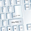 Stock Photo: Any Key