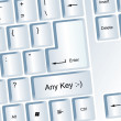 Any Key — Foto Stock