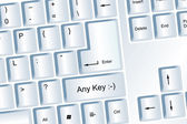 Any Key — Stock Photo