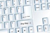 Any Key — Stock Photo