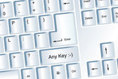 Any Key — Stok fotoğraf