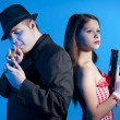 Bonnie and clyde — Stock Photo #4639549