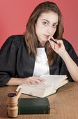 Young lawyer — Stock Photo