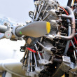 Stock Photo: Aircraft engine