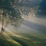 太陽光線 — ストック写真