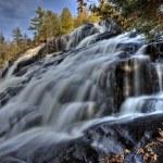 Northern Michigan UP Waterfalls Bond Falls — Stock Photo