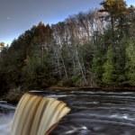 Northern Michigan UP Waterfalls — Stock Photo