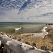 Stock Photo: Lake Superior Northern Michigan