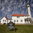 Stock Photo: Whitefish Point Light Station