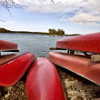 Potawatomi State Park Boat rental — Stock Photo #4684988