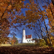 Lighthouse Northern Michigan — Stock Photo