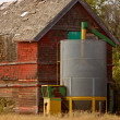Stock Photo: Old Granary