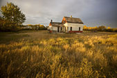 Opuštěné farmě — Stock fotografie