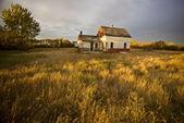 övergiven bondgård — Stockfoto