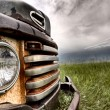 Old Vintage Truck oon the Prairie — Stock Photo