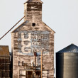 Old Vintage Grain Elevator — Stock Photo