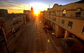 Sunset in Moose Jaw — Stock Photo