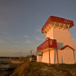 Lookout tower Gull Harbour Manitoba Canada — Stock Photo