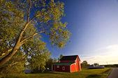 Old Barn Hecla Island Manitoba — Stock Photo