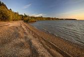 Sunrise on Lake Winnipeg Manitoba Canada — Stock Photo