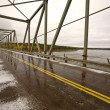Churchill River Bridge Northern Manitoba — Stock Photo