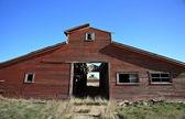 Old Abandoned Stables Saskatchewan Canada — Stock Photo