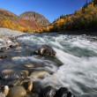 Stock Photo: TahltRiver in Northern British Columbia