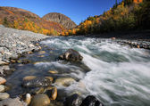 Tahltan River in Northern British Columbia — Stock Photo