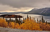 Scenic lake in Northern British Columbia — Stock Photo