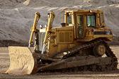Bulldozer ralenti en saskatchewan — Photo