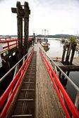 Fishingboats dock at Prince Rupert — Stock Photo