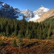 View of the Rocky Mountains along Icefields Parkway — Stock Photo #4861104