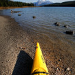 Maligne Lake in Jasper National Park — Stock Photo