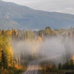 Yellowhead Highway British Columbia Canada — Stock Photo