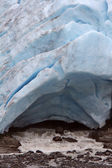 Icefield at Bear Glacier National Park in British Columbia — Stock Photo