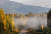 Yellowhead Highway British Columbia Canada — Stock Photo