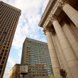 Old Bank of Montreal building in Winnipeg — Stock Photo #4921877