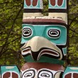 Totem pole in rural Manitoba — Stock Photo #4922125
