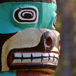 Stock Photo: Totem pole in Saint Vital Park in Winnipeg