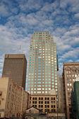 New buildings amongst old in Downtown Winnipeg — Stock Photo