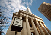 Old Bank of Montreal building in Winnipeg — Stock Photo