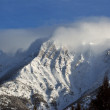 Rocky Mountains in winter — Stock Photo
