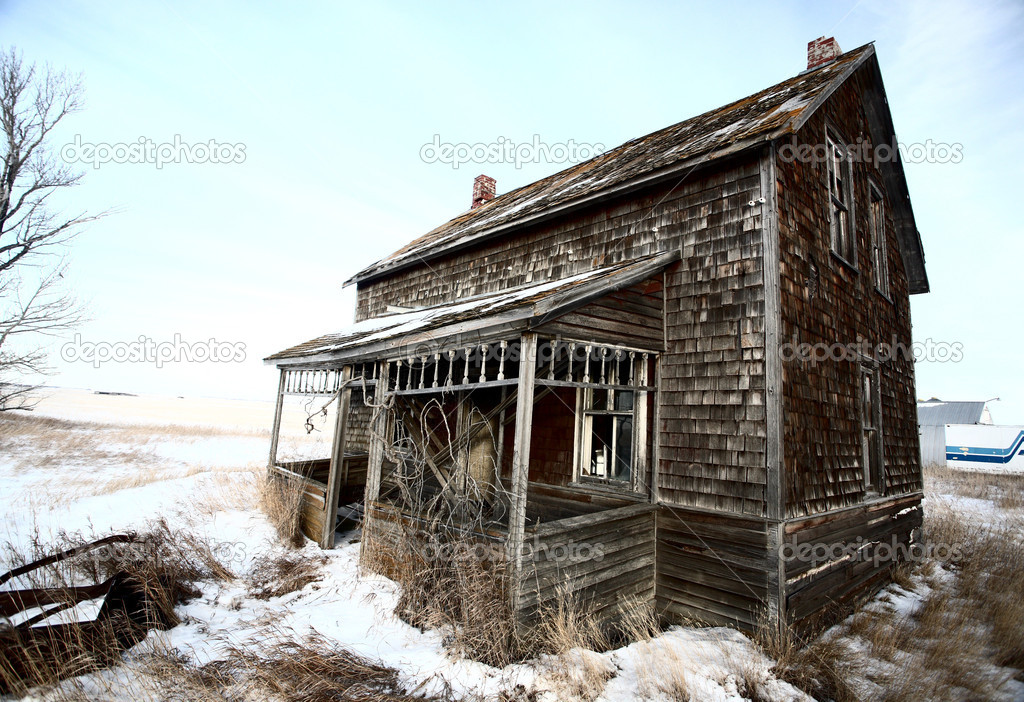 Abandoned Farm houses for Sale http://depositphotos.com/5170306/stock-photo-Abandoned-old-farm-house-in-winter.html