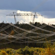 Hydro Power tower and lines in beautiful British Columbia — Stock Photo #5209053