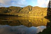 Hart Lake in awesome Alberta — Stock Photo