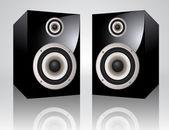 Vector Audio Speakers — Stock Vector