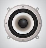 Vector Audio Speaker — Stock Vector