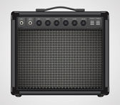 Guitar Combo Amplifier Vector — Vecteur