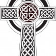 Royalty-Free Stock Immagine Vettoriale: Celtic cross symbol - tattoo or artwork