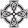 Vettoriale Stock : Celtic Cross